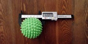 Bramble Trocknerbälle Test Größe